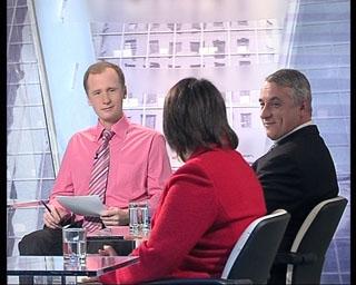 Рассказывает представитель Коммерсанта Ольга Плешакова, рядом ведущий передачи.