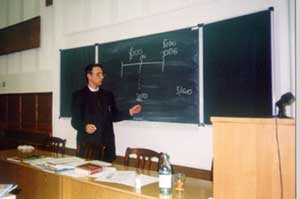 Парфенов К.Г. Семинар в Новосибирске